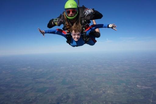 Skydive Spaceland Dallas Lifestyle blogger North Dallas Blog Blogger Love You More Too