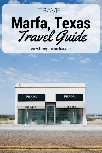 Pinterest Prada Marfa Van Life Marfa Travel Blog Blogger Love You More Too