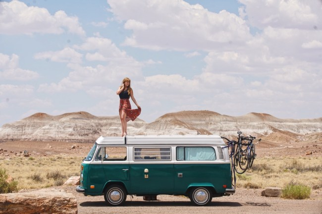 Van Life Painted Desert National Park LoveYouMoreToo