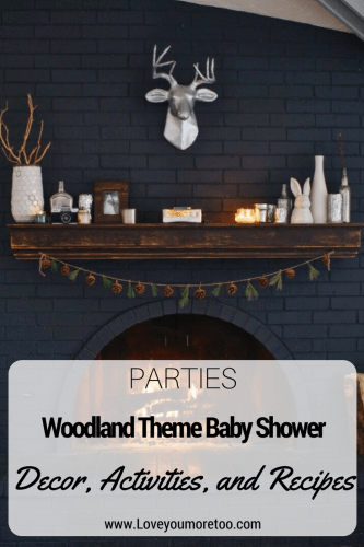 Pinterest Woodland Theme Baby Shower Decor Inspo