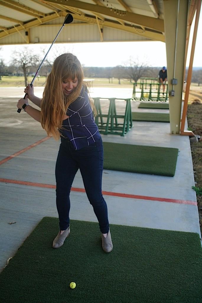 RB Golf club resort driving range