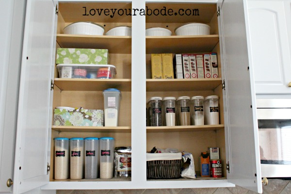 Make Space In A Cabinet Or Pantry For All Other Baking Supplies.