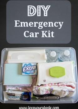 DIY Emergency Car Kit at Orgjunkie