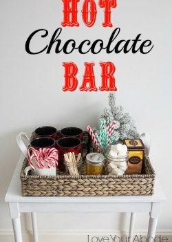Hot Chocolate Bar at Orgjunkie