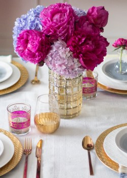 Step by Step Summer Tablescape