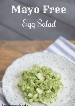 Mayo Free Egg Salad
