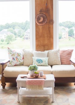 Affordable ways to update your sitting area