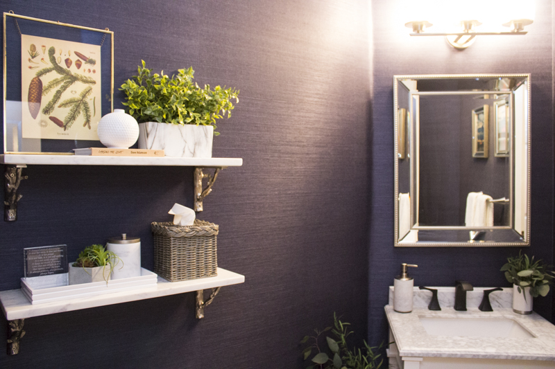 An Updated Traditional Powder Bathroom Love Your Abode