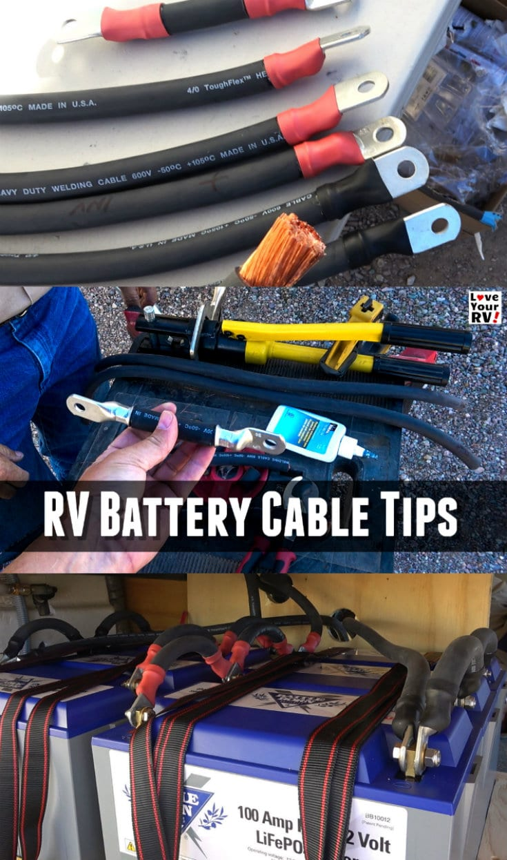 Building Custom Rv Battery Inverter Cables Tips And Advice How To Winterize Your Rv