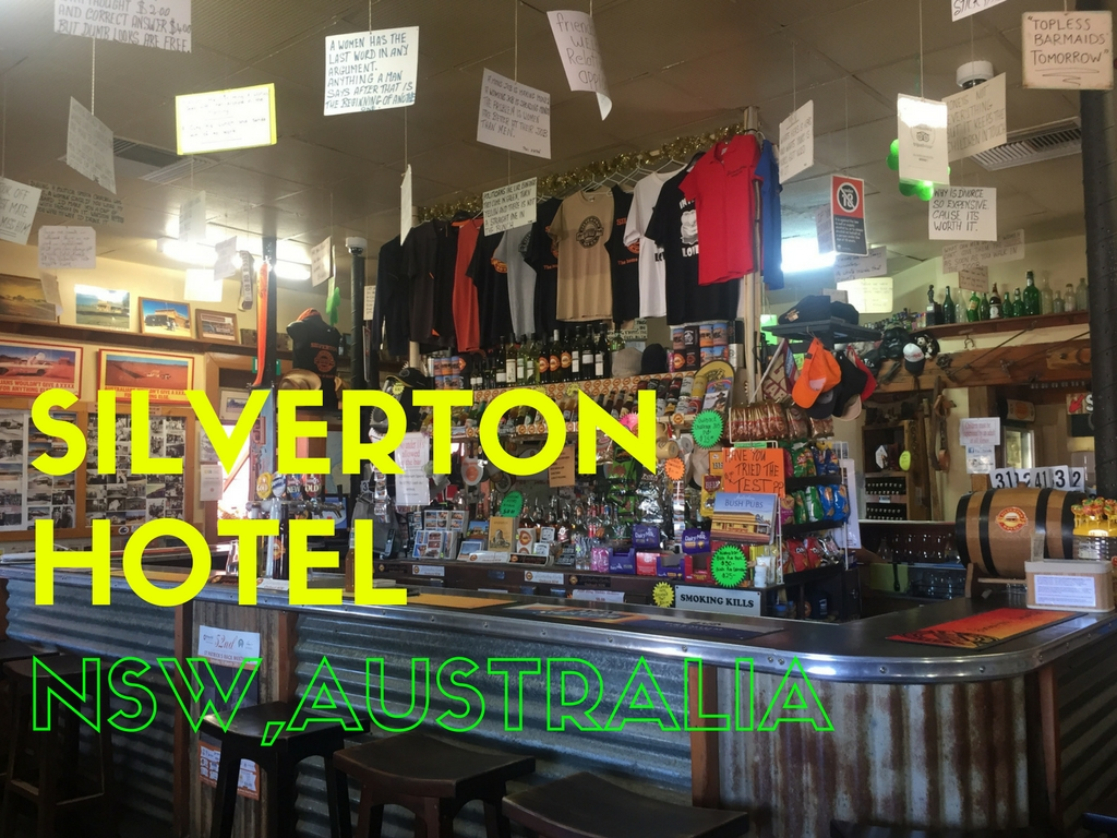 Silverton Hotel, Outback New South Wales, Australia