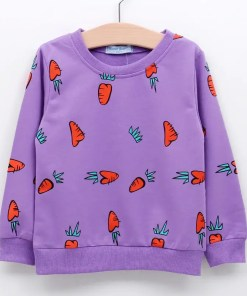 Colorful Printed Sweatshirt