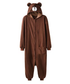 Brown Bear Shaped Unisex Kigurumi