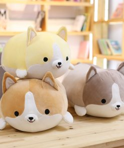Cute Corgi Plush Pillow