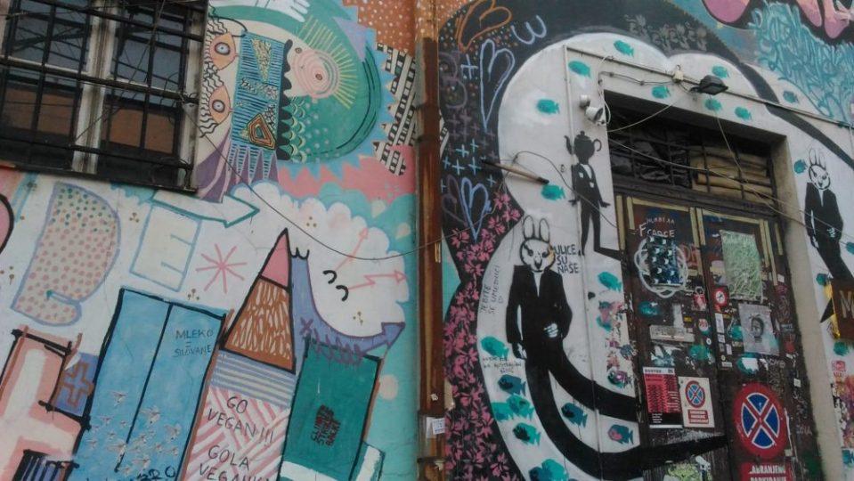 Sreet-art a Savamala, Belgrado