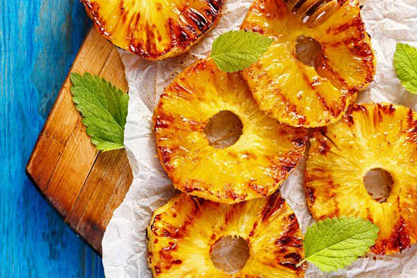 Grilled Pineapple Rings