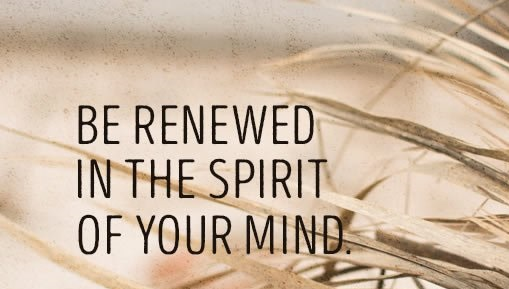 Be Renewed
