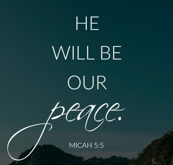 Immanuel Is Our Peace
