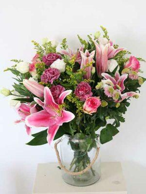 Ramo de flores de temporada