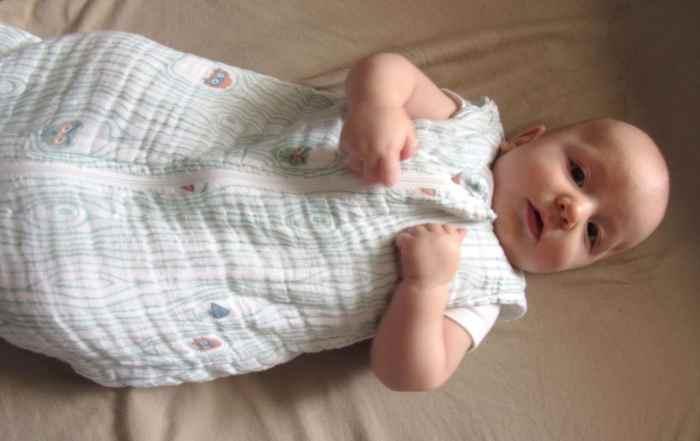 sleep training baby 1