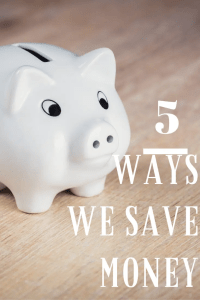 5 Ways We Saved Money in September