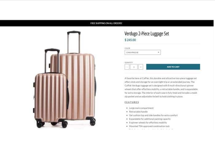 CalPak Luggage