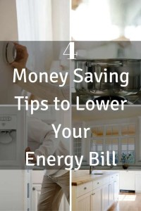 4 Money Saving Tips to Lower Your Energy Bill