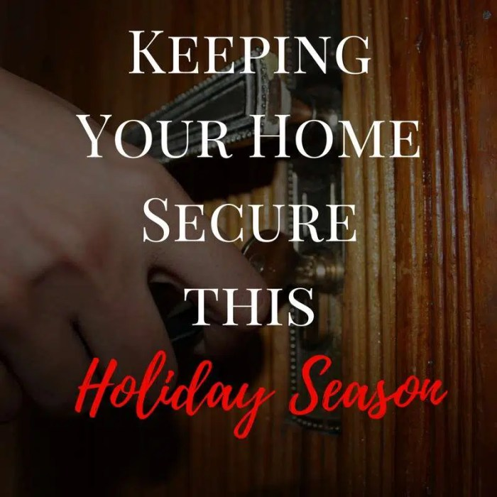 Keeping Your Home Secure This Holiday Season