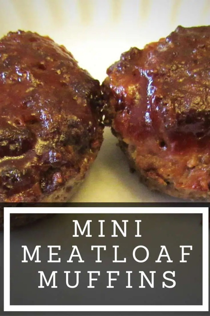 Mini Meatloaf Muffins an easy and delicious dinner or party appetizer recipe