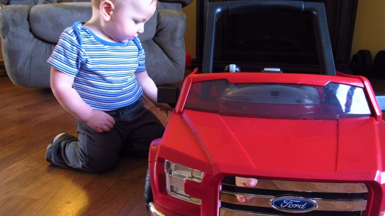 Bright Starts 3 Ways to Play Ford F-150 Walker + Giveaway