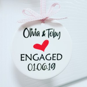 Personalised Engagement Keepsake