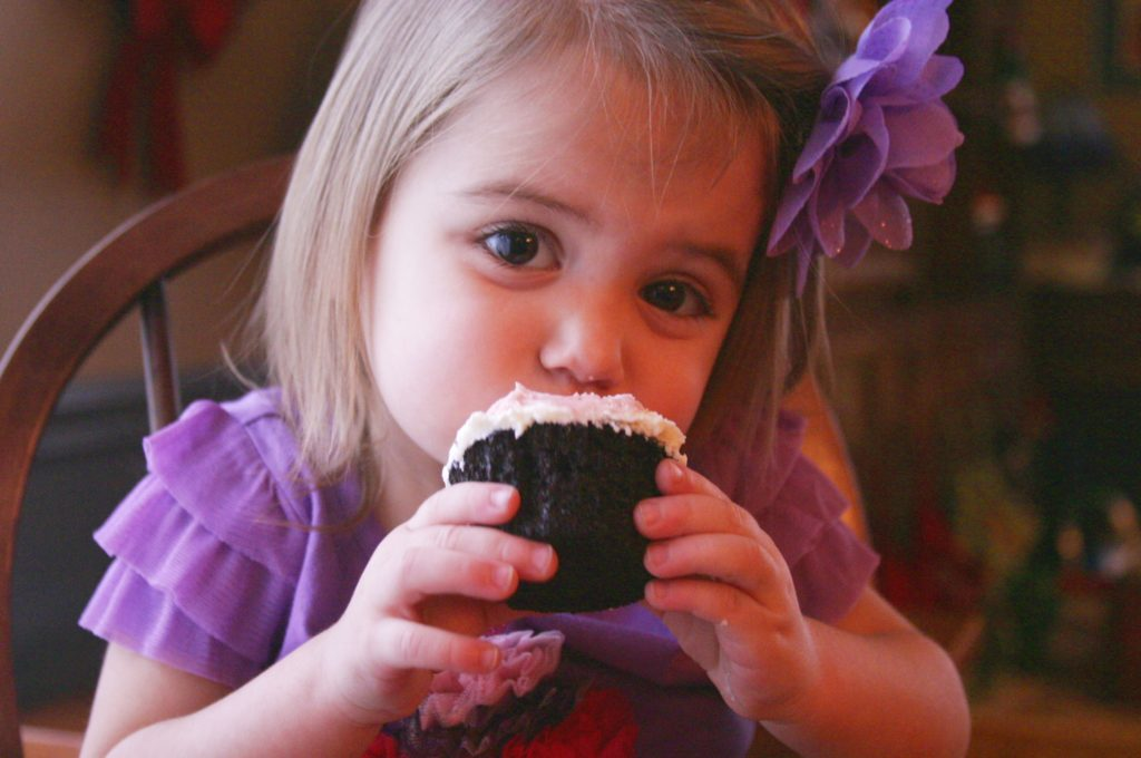 Nora with cupcake edited
