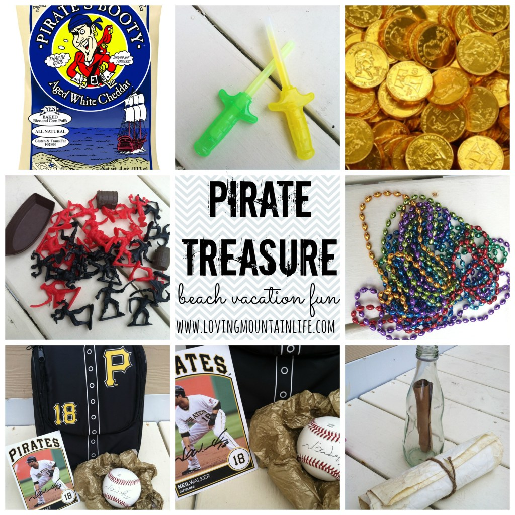 Pirate Treasure Beach Vacation Fun | Loving Mountain Life