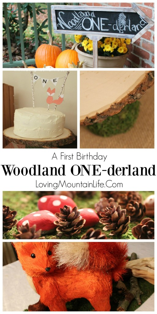 Woodland Onederland Collage from Loving Mountain Life