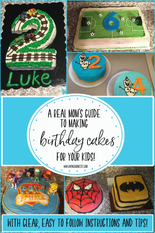 Terrific A Real Moms Guide To Making Birthday Cakes For Your Kids Loving Funny Birthday Cards Online Inifofree Goldxyz