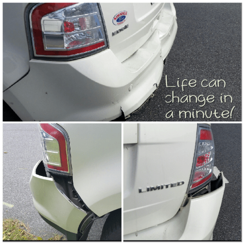 2008 ford edge accident