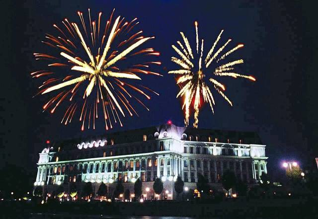 "Nemacolin Woodlands Resort will hold an ""Americana Extravaganza"" celebration at its Farmington site on July 6. Shown is an earlier Fourth of July celebration."