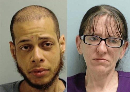 Daniel W. Brewer, 34, of Monessen, (left) and Karen M. Brewer, 33, of Monessen.