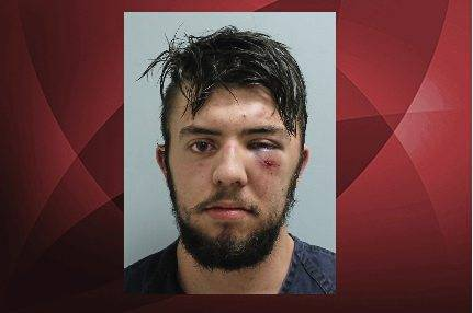 Dominic Bellone is accused of being drunk and hitting four people with a pickup truck.
