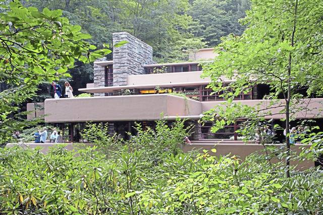 Frank Lloyd Wright's Fallingwater graces the cover of the newly released Laurel Highlands Visitors Bureau's 2020 Destination Guide, a tourism borochure for Fayette, Somerset and Westmoreland counties.