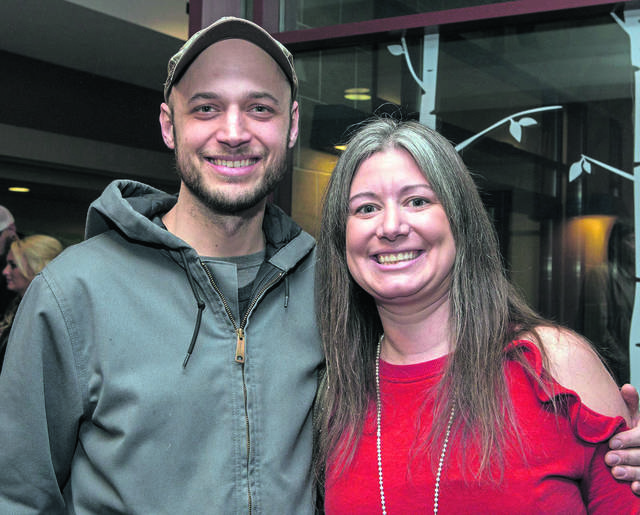 Andy Gregg and Natalie Gregg of Norvelt pose for a photo before the Roots & Boots Tour on Saturday, Feb. 2, 2019.
