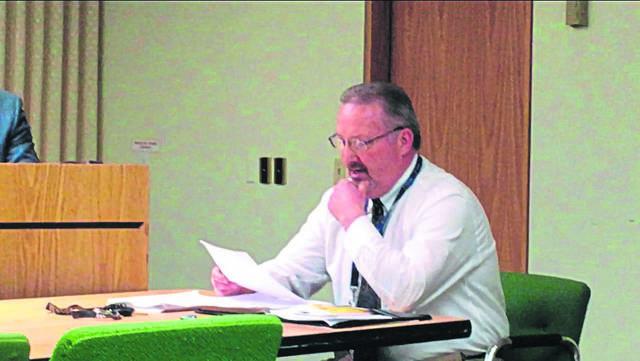Westmoreland County Prison warden John Walton.