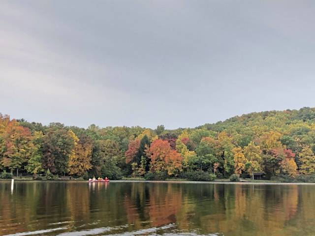 Search crews were out in force both Saturday night and Sunday morning, Oct. 11, 2020, looking for Donald A. Metzger, 39, of Ross Township, reported missing in the Keystone State Park area.