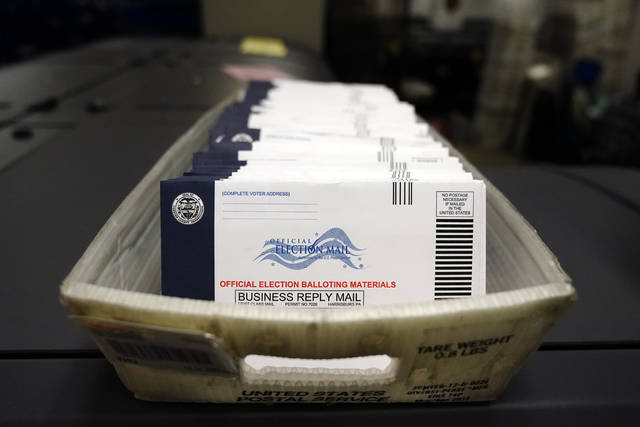 Mail-in ballots for the 2020 General Election in Pennsylvania. More than 3 million were requested statewide, including 413,000 in Allegheny County and nearly 80,000 in Westmoreland.