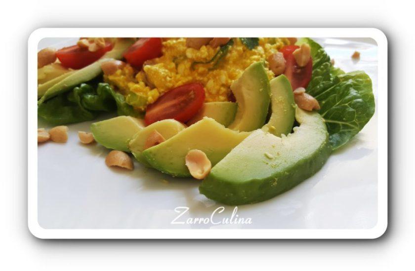 Körniger Frischkäse Salat orientalisch - I