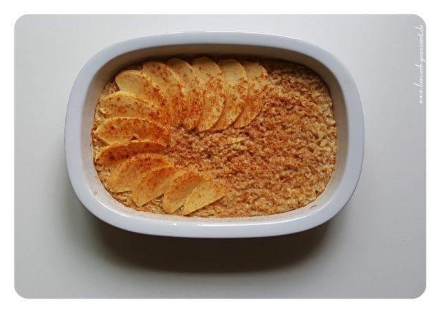 Baked Oats Apfel und Zimt - BLOG