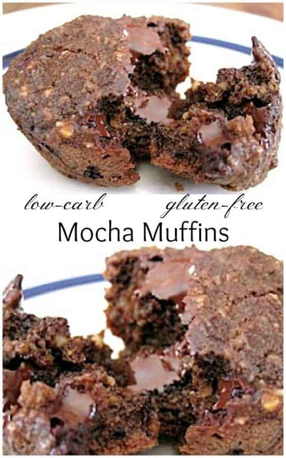 Mocha Muffins With Chocolate Chunks