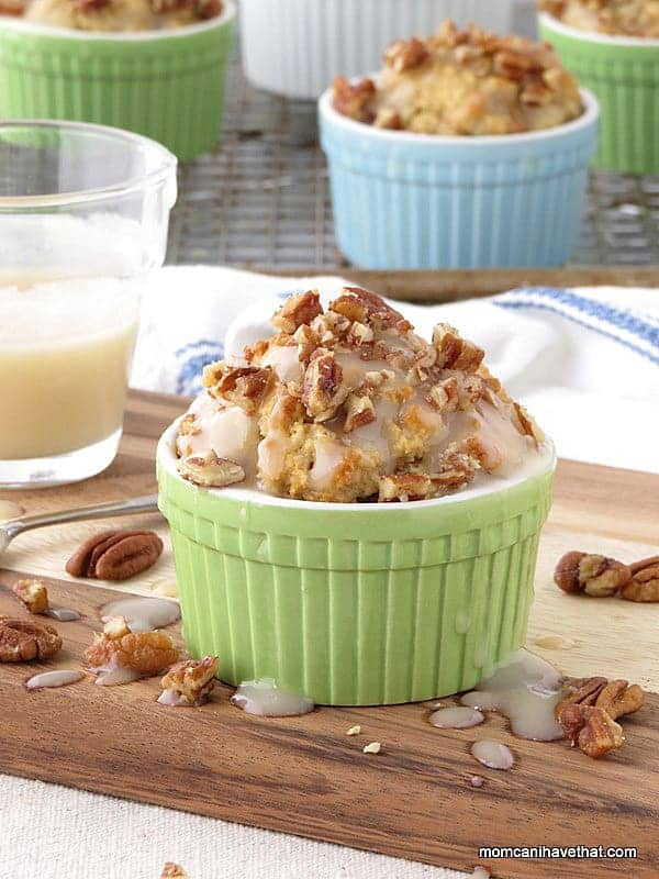 Low Carb Maple Bacon Pecan Muffins