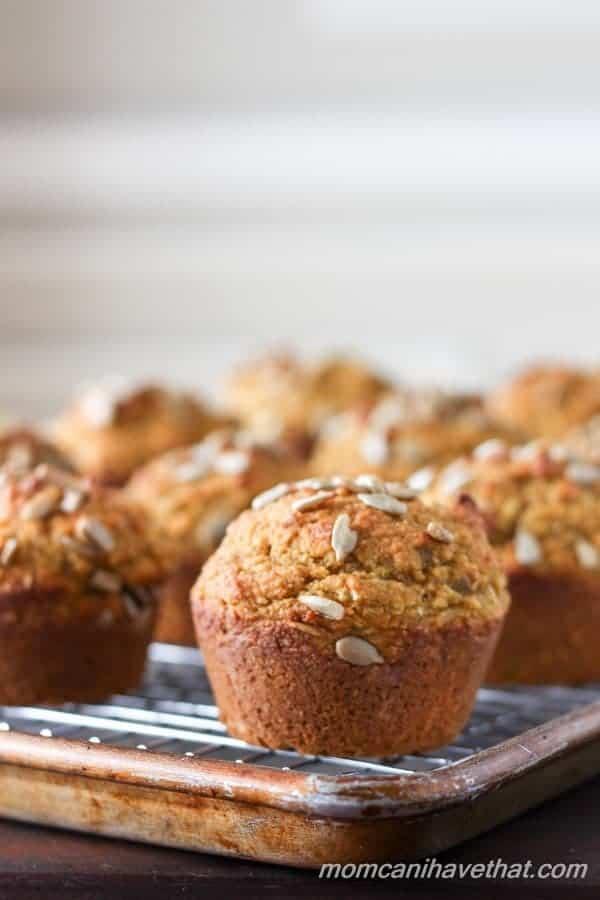 Healthy Pumpkin Spice Breakfast Muffins