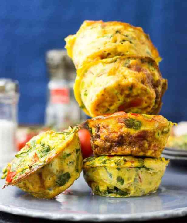 Low Carb Egg Breakfast Muffins