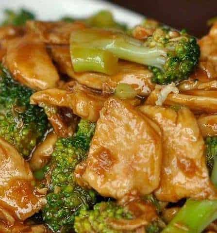 Chicken And Broccoli Stir
